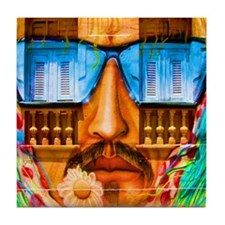 Grafitti Man Tile Coaster
