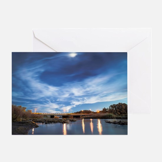 Bosque Highway Greeting Card
