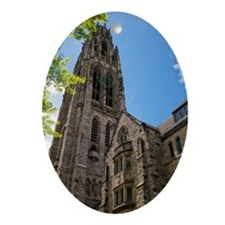 Harkness Tower Oval Ornament