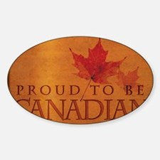 Proud to be Canadian Decal