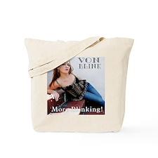 More Blinking Cover Art Tote Bag