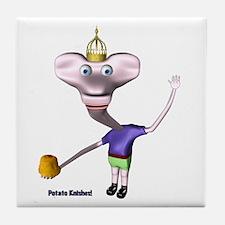 Little King John Potato Knishes Tile Coaster