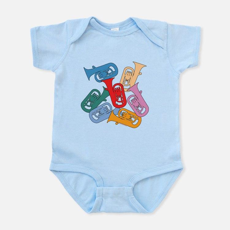 Colorful Euphoniums - Infant Bodysuit