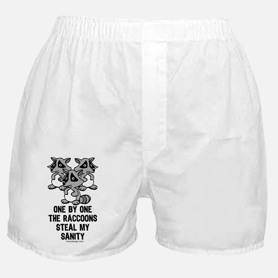 One By One The Raccoons Boxer Shorts