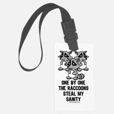 One By One The Raccoons Luggage Tag