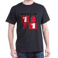 Made In 1971 Designs T-Shirt