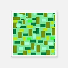 "Forest Reflector Square Sticker 3"" x 3"""