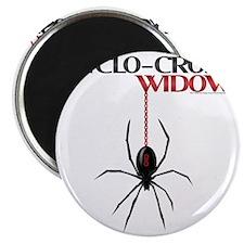 Cyclo-Cross Widow Magnet