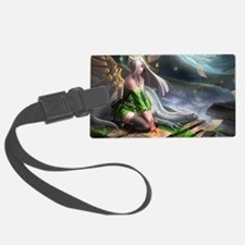 Fairy and Dragon Luggage Tag
