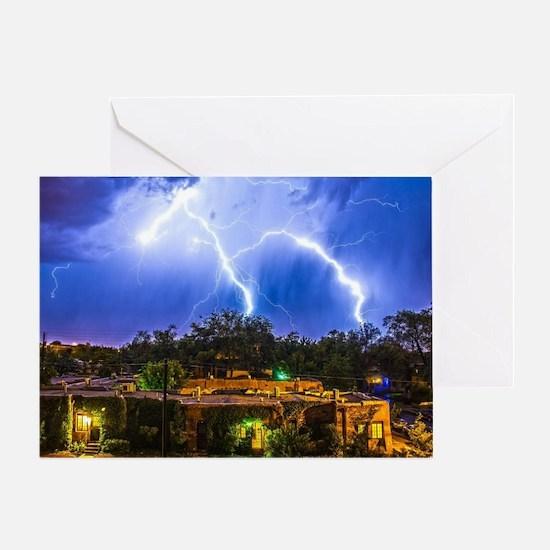 Lightning Dance Greeting Card