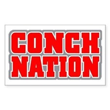 CONCH NATION! Rectangle Decal