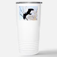 Isaiah 40:31 Eagle Soar Travel Mug
