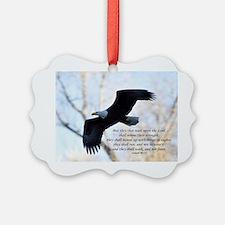 Isaiah 40:31 Eagle Soaring Ornament