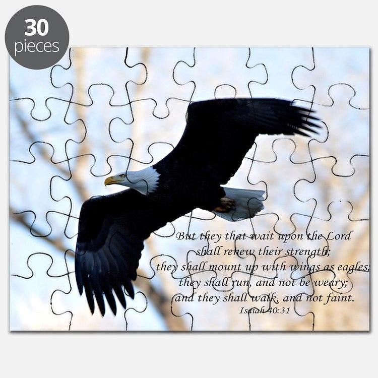 Isaiah 40:31 Eagle Soaring Puzzle