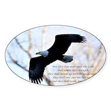 Isaiah 40:31 Eagle Soaring Decal