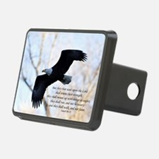 Isaiah 40:31 Eagle Soaring Hitch Cover