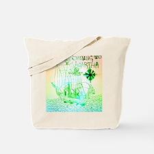 Jenni Nagini - Sailing To Agartha Album C Tote Bag
