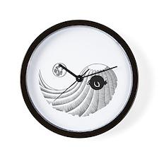 night-mount-yang-DKT Wall Clock