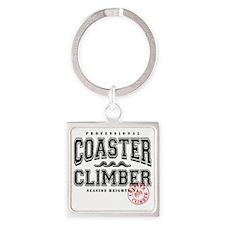 Coaster Square Keychain