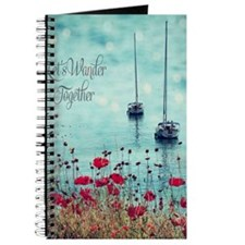 Sea and Poppies Journal