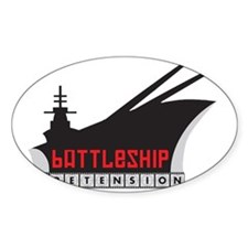 Battleship Pretension Logo Decal