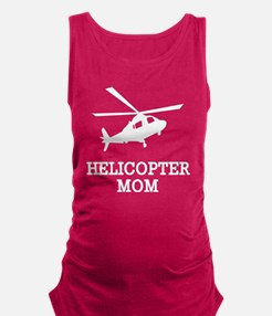 Helicopter Mom Maternity Tank Top