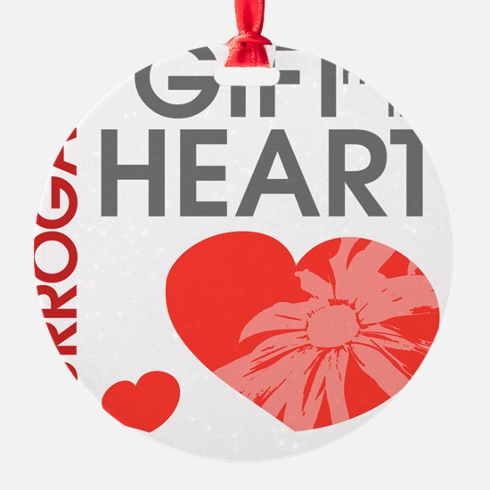 Surrogacy A Gift from the Heart Ornament