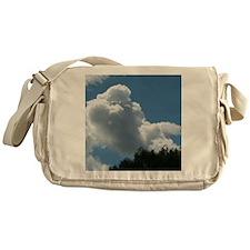 Poodle in Clouds? Messenger Bag