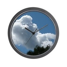 Poodle in Clouds? Wall Clock