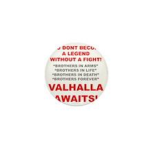 Valhalla Awaits 1 Mini Button