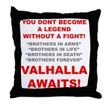 Valhalla Awaits 1 Throw Pillow