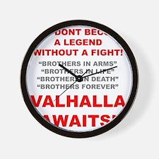 Valhalla Awaits 1 Wall Clock