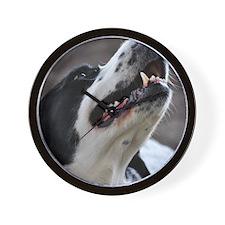 Unique Pet Portraits from Devonshire Do Wall Clock