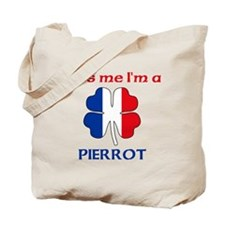 Pierrot Family Tote Bag