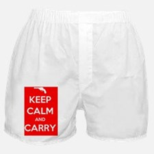 Keep Calm and Carry - Color Boxer Shorts
