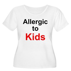 Allergic To Kids T-Shirt