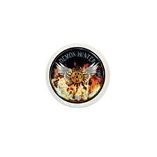 Demon Hunter protection Symbal Flames  Mini Button
