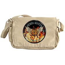 Demon Hunter protection Symbal Flame Messenger Bag