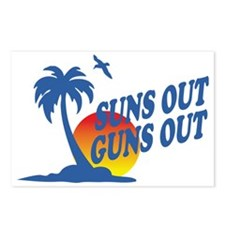 Suns Out Guns Out Postcards (Package of 8)