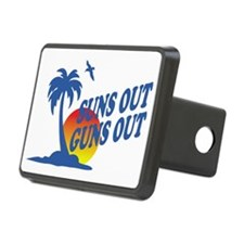 Suns Out Guns Out Hitch Cover