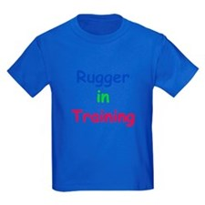 Young Rugger Youth Dark T-Shirt