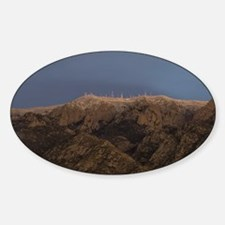 Sandia Peak Sticker (Oval)