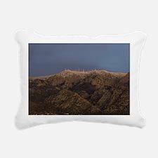 Sandia Peak Rectangular Canvas Pillow
