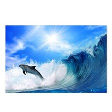 dolphin Postcards (Package of 8)