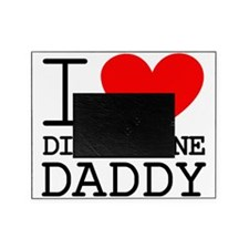 I Heart My Discipline Daddy Picture Frame