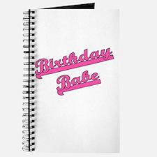 Birthday Babe Journal