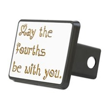 May the fourths be with yo Hitch Cover