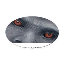 EVERYTHING BIGFOOT! Oval Car Magnet
