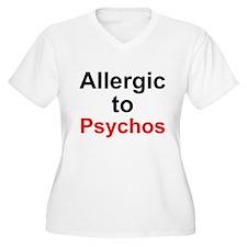 Allergic To Psychos T-Shirt