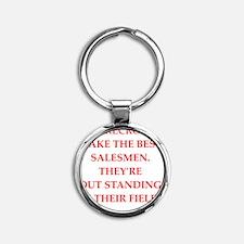 sales Round Keychain
